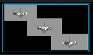 Three drop-zone placeholders in the Motion Viewer.