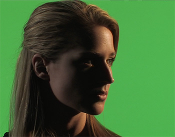 A green-screen example.